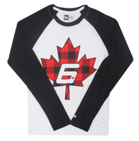 Robert Wickens Maple Baseball Tee