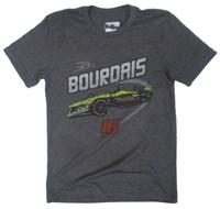 Sebastien Bourdais Car Polyblend Tee