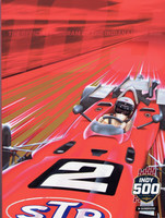 "2019 Indy 500 24""x 18"" Program Cover Poster"