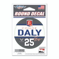 "Conor Daly ""25"" Decal"