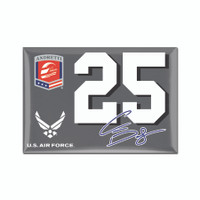 "Conor Daly ""25"" 2""x 3"" Magnet"
