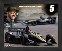 "James Hinchcliffe 9"" x 11"" Frame"