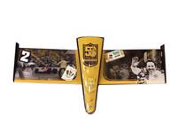 Mario Andretti 50th Anniversary Hand Autographed Collage Nose Cone