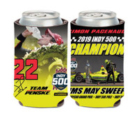 2019 Indy 500 Simon Pagenaud Winner Can Cooler