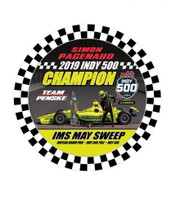 2019 Indy 500 Simon Pagenaud Winner Lapel Pin