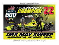 2019 Indy 500 Simon Pagenaud Winner Magnet