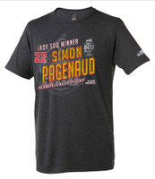 2019 Indy 500 Simon Pagenaud Winner Tee