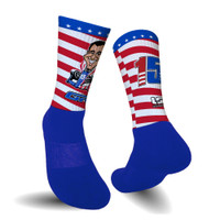 Graham Rahal Sublimated USwag Socks