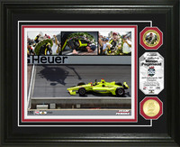 2019 Indy 500 Simon Pagenaud Winner Framed Piece