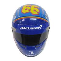 Fernando Alonso McLaren 1:2 Scale Mini Helmet