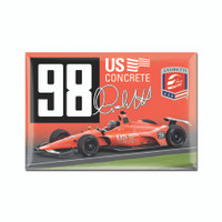 2019 Marco Andretti Throwback Magnet