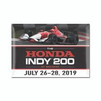 2019 Honda Indy 200 Mid-Ohio Event Magnet