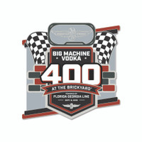 2019 Big Machine Vodka Brickyard 400 Lapel Pin