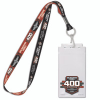 2019 Big Machine Vodka Brickyard 400 Credential Lanyard Set