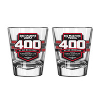 2019 Big Machine Vodka Brickyard 400 Event Shot Glass