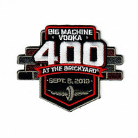 2019 Big Machine Vodka Brickyard 400 Emblem