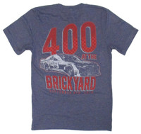 2019 Big Machine Vodka Brickyard 400 Runner Polyblend Tee