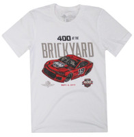 2019 Brickyard 400 White Event Tee