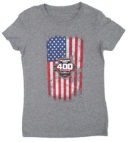 Ladies 2019 Big Machine Vodka Brickyard 400 Americana Tee