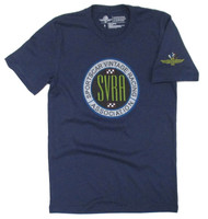 SVRA Wing Wheel and Flags CoBranded Tee