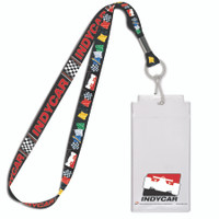 INDYCAR Flags Credential/Lanyard Flag Set