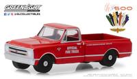 1967 Official 1:64 Chevrolet C-10 Fire Truck