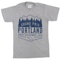 2019 Grand Prix of Portland Badge Tee
