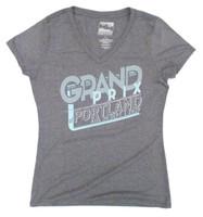 Ladies 2019 Grand Prix of Portland Tilikum V-Neck Tee