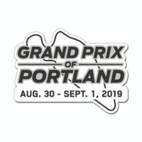 2019 Grand Prix of Portland Lapel Pin