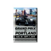 2019 Grand Prix of Portland Event Magnet
