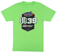 2019 BC39 Neon Green Car Graphic Tee