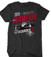 2019 NTT INDYCAR Series Josef Newgarden Champion Tee