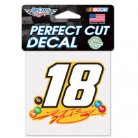 "Kyle Busch ""18"" Perfect Cut Decal"