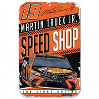 "Martin Truex Jr. Speed Shop 11""x 17"" Plastic Sign"