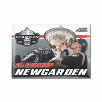 2019 NTT INDYCAR Series Josef Newgarden Champion Magnet