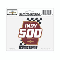 2020 Indy 500 Clear Event Decal