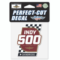 2020 Indy 500 Perfect Cut Decal