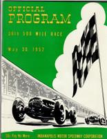 1952 Indy 500 Program