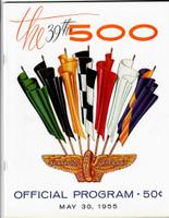 1955 Indy 500 Program
