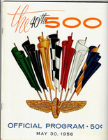 1956 Indy 500 Program