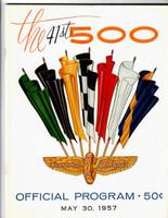 1957 Indy 500 Program