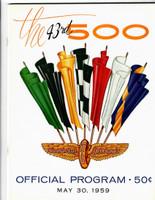 1959 Indy 500 Program