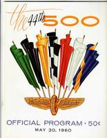 1960 Indy 500 Program