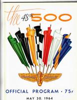 1964 Indy 500 Program