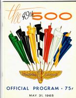1965 Indy 500 Program