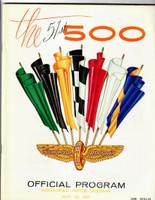 1967 Indy 500 Program