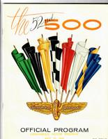 1968 Indy 500 Program