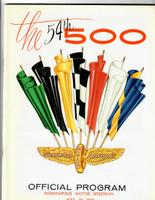 1970 Indy 500 Program