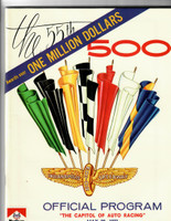 1971 Indy 500 Program