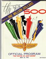 1972 Indy 500 Program